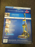 Brand New Bissell Proheat 2X Revolution Deep Clean Carpet Cleaner 1551 - Yellow