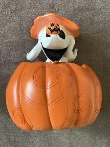 Nightmare Before Christmas ZERO Figurine Halloween Pumpkin Exclusive Disney
