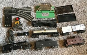Lot of 12 Postwar Lionel O Scale Gauge Freight Rolling Stock Parts Repair Train