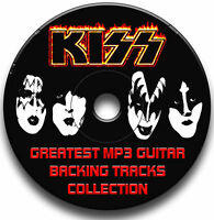 KISS STYLE ROCK MP3 GUITAR BACKING TRACKS AUDIO CD JAM TRAXS ANTHOLOGY