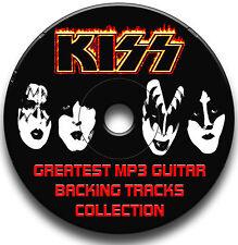KISS STYLE ROCK MP3 GUITAR BACKING TRACKS AUDIO CD JAM TRAXS ANTHOLOGY