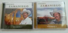 ENRIQUE ZAMANIEGO - PASEANDO POR ZACATECAS, VOLUMES 1 & 3, LOT OF 2 CDs, SEALED