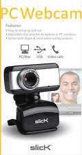 Slick PC Mac Web Cam Computer Digital USB for Video Calls Skype CA505
