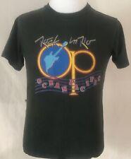 Rock In Rio 1985 Festival Ocean Pacific Shirt Black Size Medium Brazil