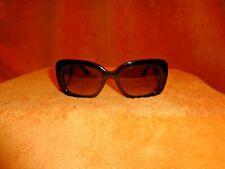 PRADA Baroque Swirl Square Black Frame Sunglasses SPR 27O 54Q19 1AB3M1 135 2N