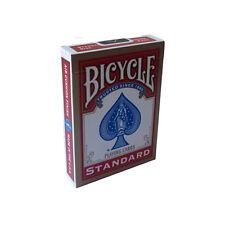 Mazzo di carte Bicycle Standard Regolare formato Poker Rider Back - dorso rosso