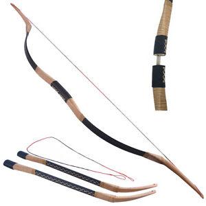 Takedown Traditioneller Recurvebogen 20-40lbs Langbogen Bogenschießen Bogen Jagd
