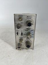 Tektronix 7a26 Mhz Dual Channel Trace Amplifier Module