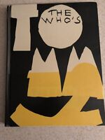 The Who Who's Tommy The Musical Book CD Pete Townshend Broadway Play 1993