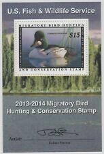 Rw80B 2013 Federal Duck Artist Signed Mini Sheet Suberb Grade 98, Smq $240-Offer
