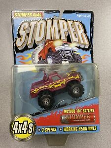 Tinco Stomper 4x4 Barbed Wire Truck - On Card - Rare - Year 2000