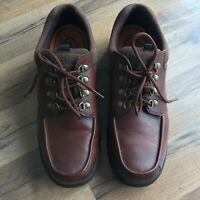Timberland Leather Shoes Men's Size 10.5M Walking Hiking Oxford Brown 81035