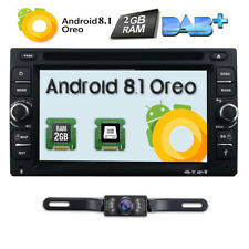 """6.2"""" Android 8.1 Os 4G WiFi Double 2 Din Car Radio Stereo Dvd Player Gps+Camera"""