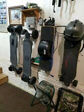 Skateboard Wall Hanger HD (heavy duty) up to 30lb E-skates white Evolve MeePo