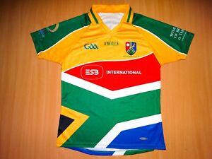 * SOUTH AFRICA GAELS O'NEILLS 2014 TOUR GAA GAELIC SHIRT IRELAND Irish football