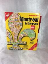 MAPART MONTREAL & ENVIRONS MAP 2001