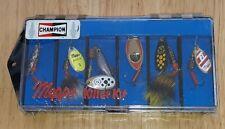 CHAMPION SPARK PLUGS PROMO Mepps Killer Kit Set of 6 Fishing Lures #2 SEALED NEW
