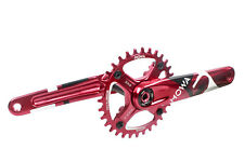 MOWA Five MTB E-Bike Bicycle 11 Speed Crankset for Shimano/Sram 30t 175mm Red