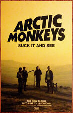 ARCTIC MONKEYS Suck It & See Ltd Ed Discontinued RARE Poster+FREE Rock Poster AM