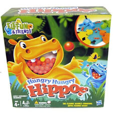 Elefun & Friends - HUNGRY HUNGRY HIPPOS - Frantic Marble Munching Game - BOXED