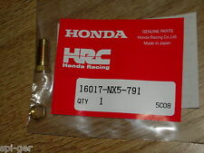 HRC Honda Racing Corporation NEW Genuine Main Jet Holder Set P/No. 16017-NX5-791