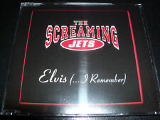 The Screaming Jets Elvis I Remember Rare CD EP - Like New