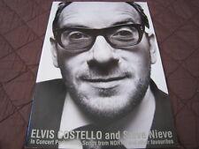 Elvis Costello and Steve Nieve 2003 Japan Tour Concert Program Book Stiff