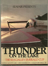 1983 Thunder on The Lake Sea Galley Emerald Cup Unlimited Hydroplane Race