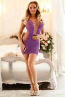US Sz XS S M L Plus XL Sexy Lingerie Bodystocking Dress Club Wear Underwear