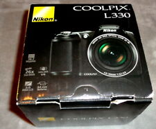 Nikon COOLPIX L330 in Box 20.2MP Digital Camera Bundle - Black - Ex Cond