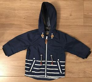 Boys Next Lightweight Zip Jacket Coat 6-9 Months