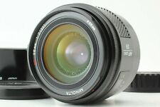 【NEAR MINT++ w/ Hood】 Minolta AF 28mm f2 For Sony / Minolta A Mount From JAPAN