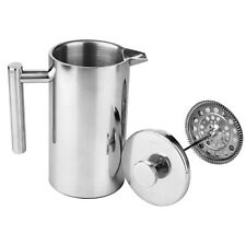 350ml Metal Tea Coffee Maker French Coffee Plunger Press Plunger Stainless