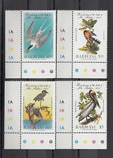 TIMBRE STAMP 4  ILE BARBUDA Y&T#741-44  OISEAU BIRD NEUF**/MNH-MINT 1985 ~A36