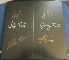 July Talk Leah Peter Ian Josh Danny JUNO Award Signed LP Vinyl © 2013 new w/COA