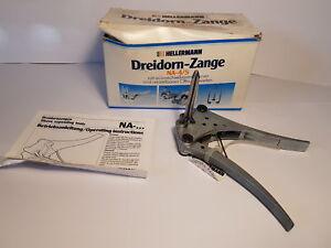 Hellermann NA-4/5 Dreidornzange für Tüllen-Innen-Ø 7,5-10 mm Three Thorn Tongs