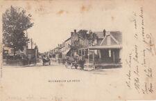 MOURMELON-LE-PETIT rue principale timbre noir 10 cent. 1901