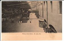 Early 1900's The Midway, Union Station in St. Louis, MO Missouri PC