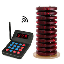 999CH New Restaurant Wireless Paging Queuing System With 10*Call Coaster Pager