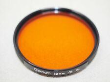 Canon 52mm O1 Orange Filter