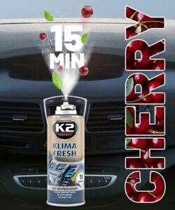 K2 KLIMA FRESH AIR CONDITIONING REFRESHER ELIMINATE ODOUR AIR CAR BOMB - 150ml