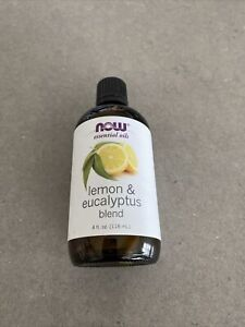 NOW Essential Oils Lemon & Eucalyptus Blend 4oz | Exp 10/2022 Sealed