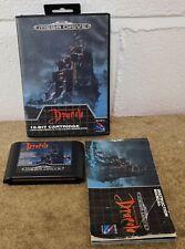 Dracula Sega Mega Drive RARE