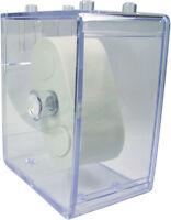 HEKTOR Uhren Sammel Box Kunststoff klar stapelbar Stapelbox ohne Uhr 1 Stück
