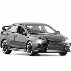 1/32 Mitsubishi Lancer Evolution X Model Car Diecast Toy Vehicle Kids Gift Black