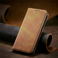 For iPhone 12 Pro Max 11 Pro XS SE 2020 Case Leather Magnetic Wallet Flip Cover