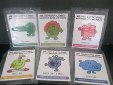 "Little Miss & Mr. Men  ""Adventure Book & Poster Set of Six""  NIP Arby's 1985"