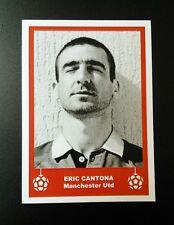 MANCHESTER UNITED - ERIC CANTONA -  RETRO CHRISTMAS 'FOOTBALL CARD' /GIFT TAG