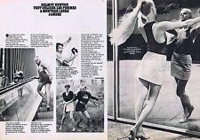 Coupure de presse Clipping 1980 Helmut Newton  (2 pages)