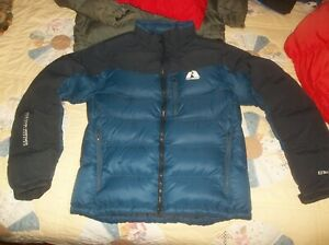 Eddie Bauer First Ascent Nuptse 800 Goose Down Coat Puffer Jacket Small RARE